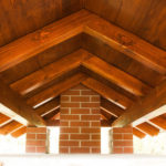 Dachkonstruktion aus Holz, Holzmeister Schmidt aus Auma